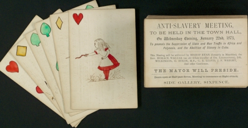 Image of Alice in Wonderland playing cards