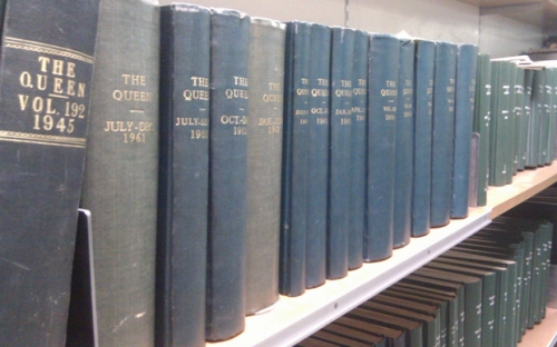 An image of the shelves.