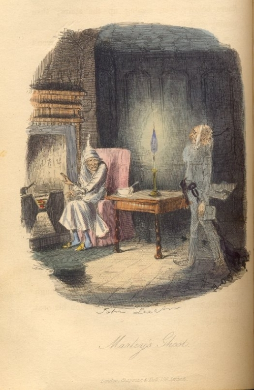An image from A Christmas Carol