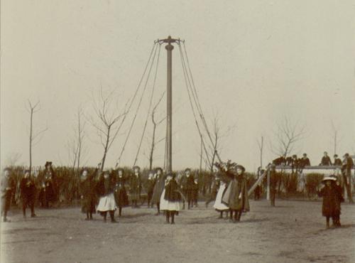 May Pole Dancing