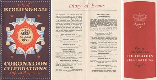 Coronation Celebrations Programme