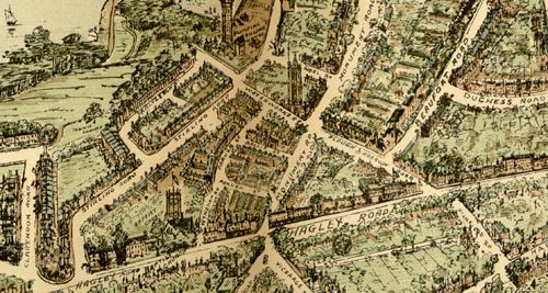 Map of Edgbaston from 1904 Birmingham Gazette