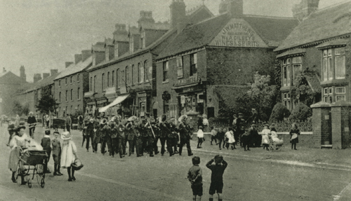 Prize Band on the Bristol Road