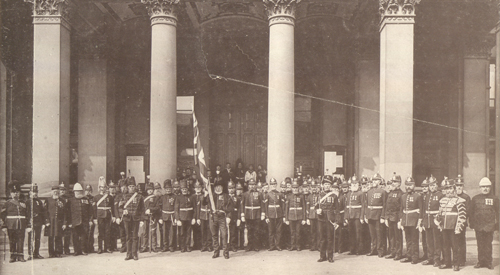 Army Veterans at the Council House, Birmingham