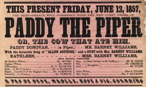 Theatre Royal Poster