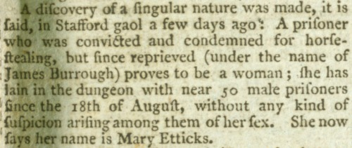Aris's Birmingham Gazette. Monday 5th September 1791.