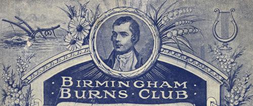 Burns' Anniversary Dinner Programme, 24 January 1919 [1017688; LF21.7]