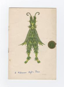 Design for 'A Midsummer Night's Dream' (1936), MS 978.
