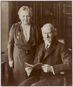 Barrow and Geraldine Cadbury, image courtesy of the Barrow Cadbury Trust