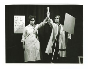 Photograph of the 1972 Birmingham Repertory Theatre Company production of 'Grab'. Ref: MS 2339.