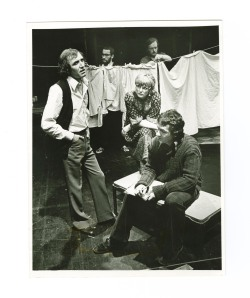 Photograph of the company in the Birmingham Repertory Theatre Company production of 'Mary Barnes' by David Edgar, 1978. Ref: MS 2339.