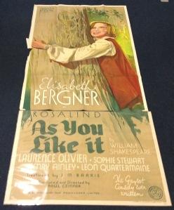Elisabeth Bergner poster