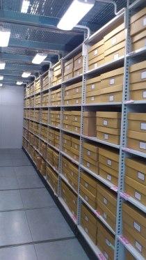 Library of Birmingham shelves