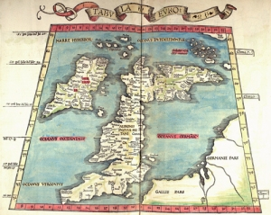 Map from the collections in the Library of Birmingham