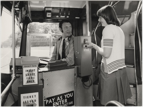 MS 4613 Bus Ticket Machine (Public Works Department 1974)