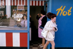 Butlin's by the Sea: Butlin's Filey, Yorkshire, July and August 1972, picture by Daniel Meadows