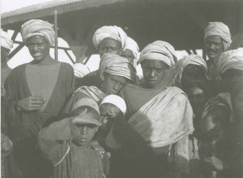 'Boys in the Fair at Luxor' (1907) MS 3196