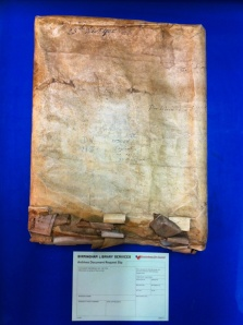 252058 DV 118 One of the larger indentures from the collection