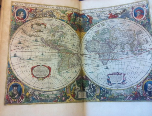 Jansson, Nouvel Atlas Theatre du Monde. 1656