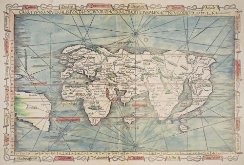 Ptolemy, Opus Geographiae. 1522