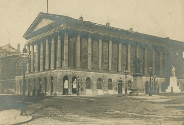Exterior view of Birmingham Town Hall, 1891 [MS 2724/2/B/816]