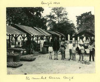 Sir Benjamin Stone, In the Market, Caera, Brazil, 1893.