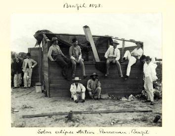 Sir Benjamin Stone, Solar Eclipse Station, Paracuru, Brazil, 1893