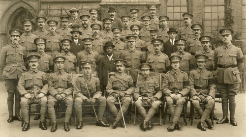 Frederick Johnson and the Small Heath Home Defence Corps, 1917