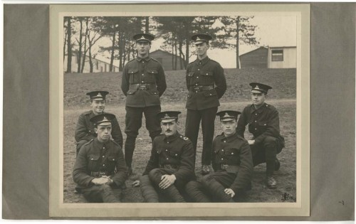 Library staff from the Royal Warwickshire City Battalion