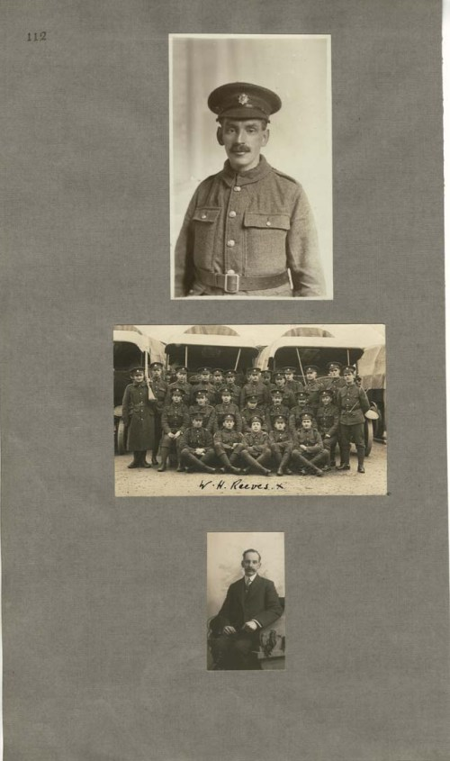 William Reeves, Royal Army Medical Corps