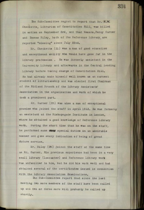Free Library Committee Minutes 1913-17 (BCC/1/AT/1/1/11)