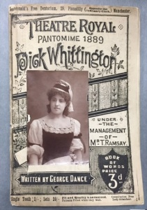 Theatre Royal Prompt Book - Dick Whittington [MS 2899]