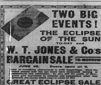 Birmingham Evening Mail 29 June 1927