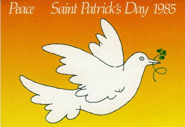 The Dove of Peace [1985] Courtesy of An Post [MS 4672]
