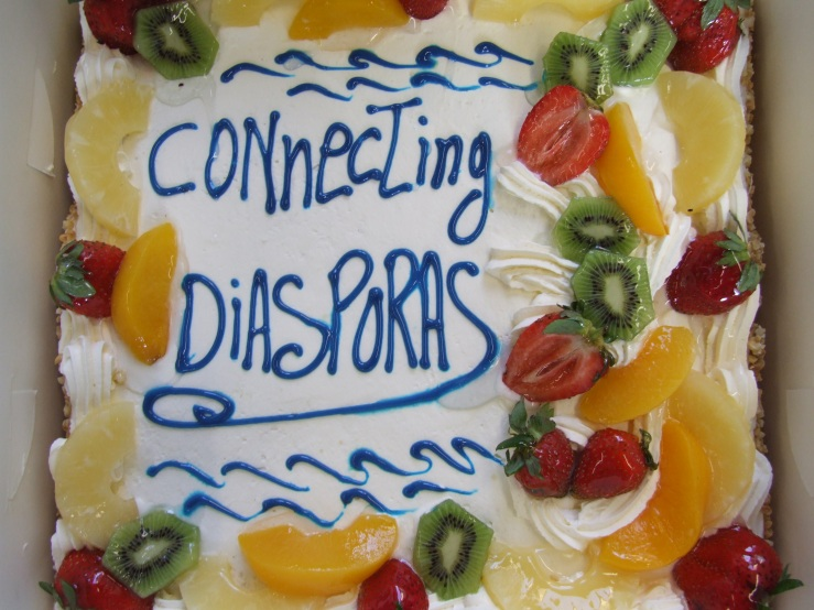 Connecting Diasporas Cake (2006) MS 4786