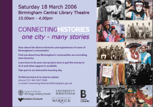 One City – Many Stories (2006) MS 4786
