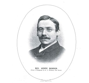 Rev Henry Bonner Faces & Places April 1890