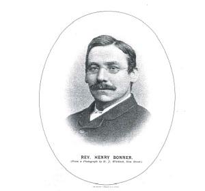 Rev Henry Bonner Faces & Places April 1890