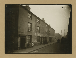 Slum housing at 6 - 11, Brass Street, Birmingham