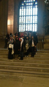 Waverley School at Westminster Hall for Fight for the Right Project