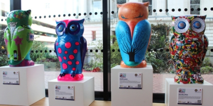 See if you can discover where these owls are at the Library of Birmingham
