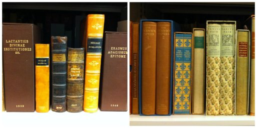 Just some examples of items from the Early & Fine Printing Colletion that we look after in AHP.