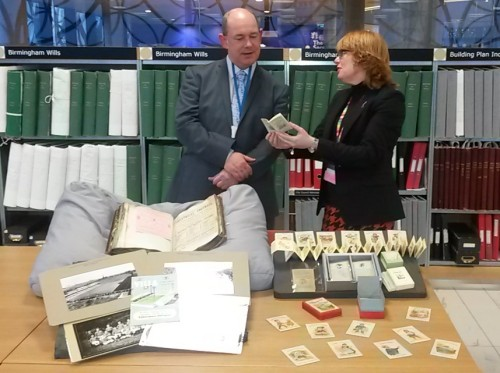 Dawn Beaumont and David Potts exploring their favourite things.