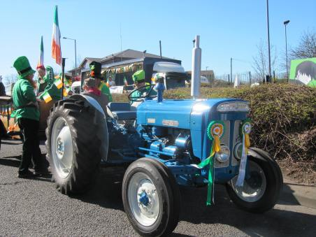 Photographs of St. Patrick's Parade 2014. (C) James Ranahan. [MS 4672 ]
