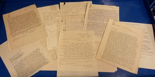 Collection of letters written by Private Smith letters [MS 2326/1/19]