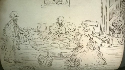 Sorting the Christmas essays, 1877