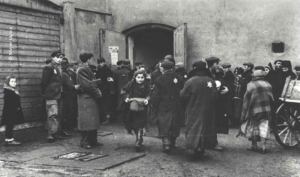 Soup Kitchen in Lodz ghetto.