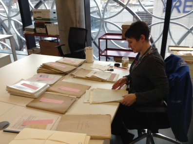 Eleanor, our Project Archivist