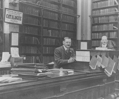 Deritend Branch Library, Birmingham, c.1910 [WK.D1.15]