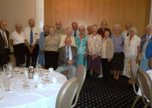 The 50th Anniversary of the Rubery Adult School (2011), photograph courtesy of one of the Midland Adult School members interviewed by Dawn Hamill (nee Hill)